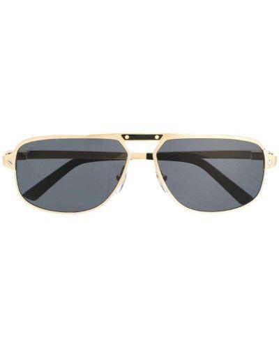 Солнцезащитные очки желтый Cartier