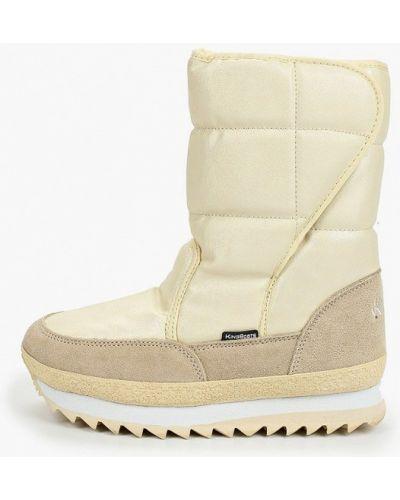 Бежевые сапоги King Boots