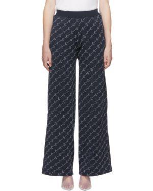 Свободные брюки расклешенные с карманами Stella Mccartney