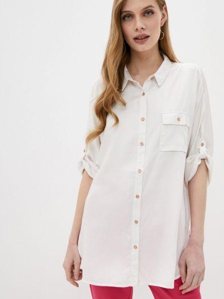 Белая блузка с длинным рукавом Sh