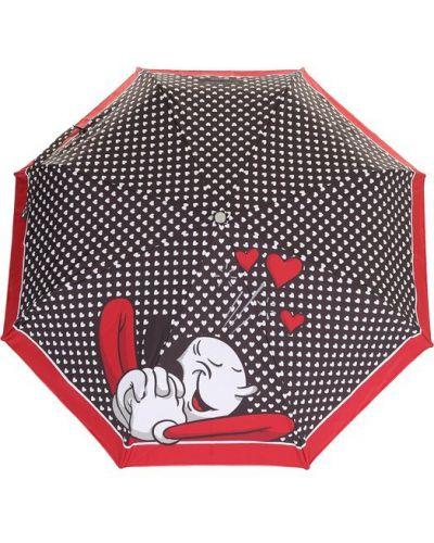 Зонт с принтом металлический Moschino