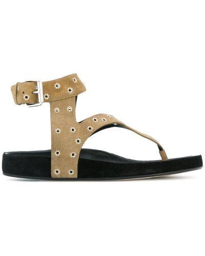 Сандалии на шнуровке кожаный Isabel Marant Étoile
