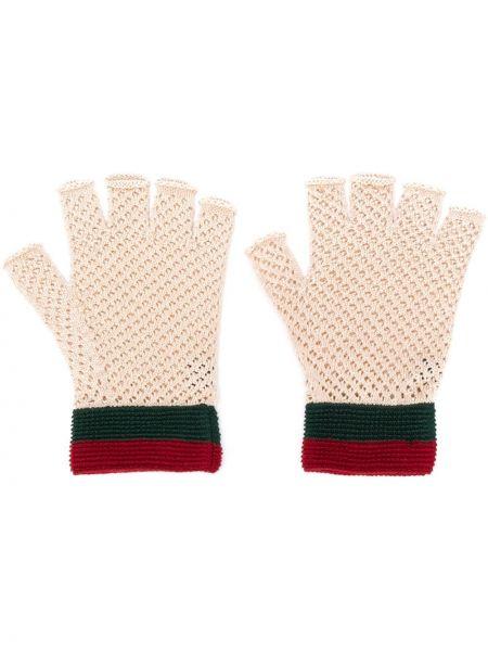 Rękawiczki bez palców trykotowy Gucci