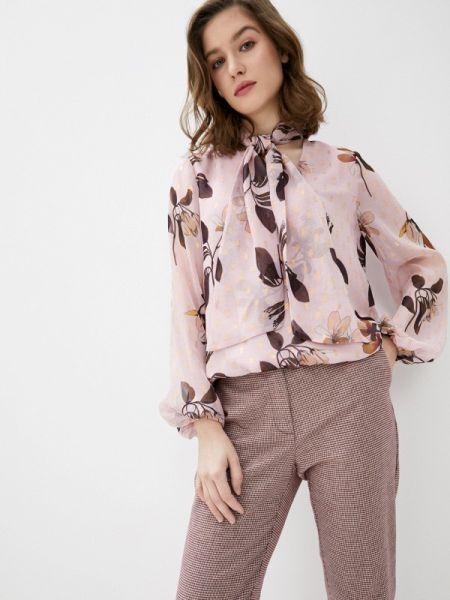 Блузка розовая с бантом Ted Baker London