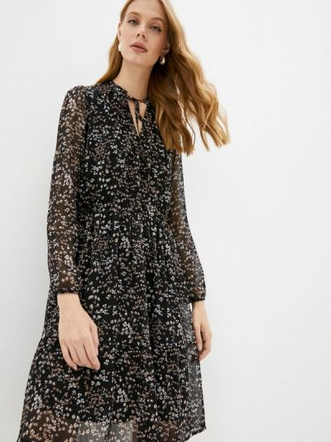 Прямое платье - черное Ostin