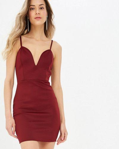Платье - бордовое Modis