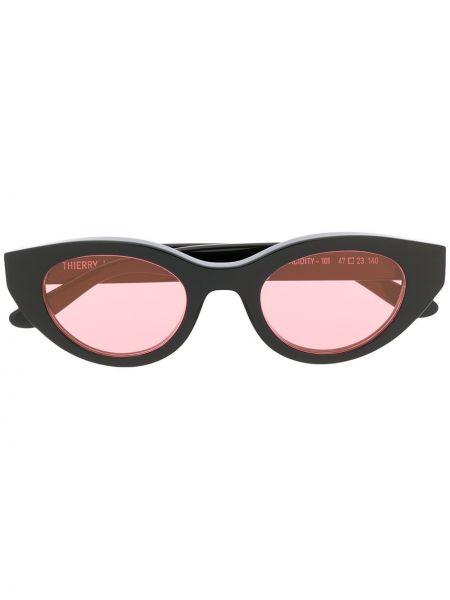 Муслиновые черные солнцезащитные очки Thierry Lasry