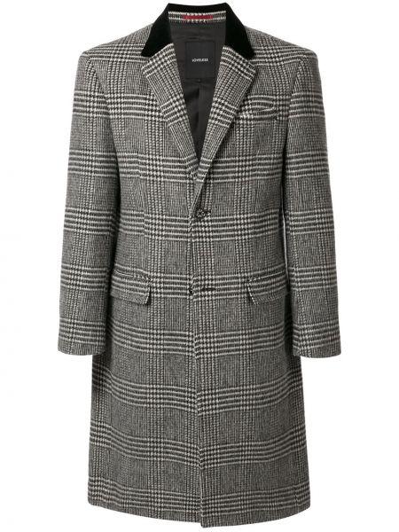 Однобортное длинное пальто на пуговицах Loveless