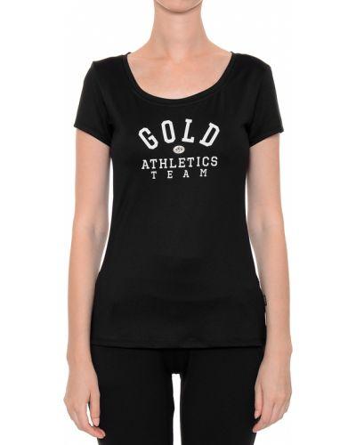 Футбольная черная футболка Goldbergh