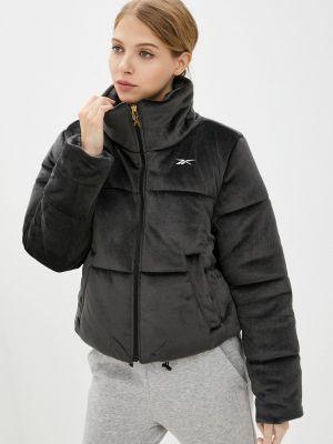 Утепленная куртка - серая Reebok