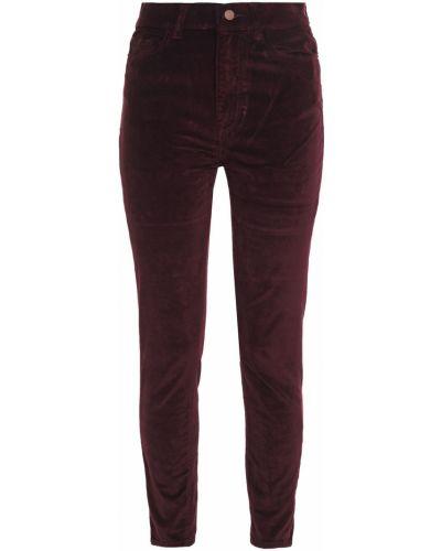 Spodnie rurki bawełniane z paskiem Dl1961