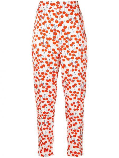 Укороченные брюки с завышенной талией брюки-хулиганы Victoria, Victoria Beckham