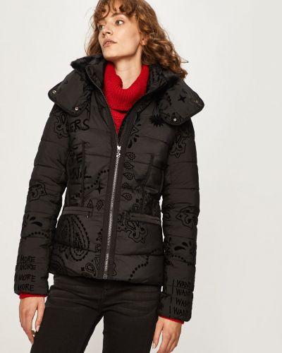 Куртка с капюшоном стеганая укороченная Desigual