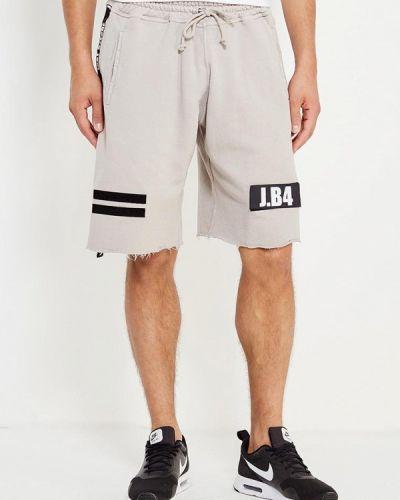 Бежевые спортивные шорты J.b4