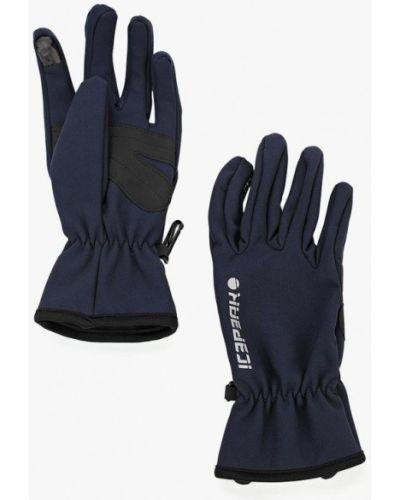 Синие перчатки текстильные Icepeak