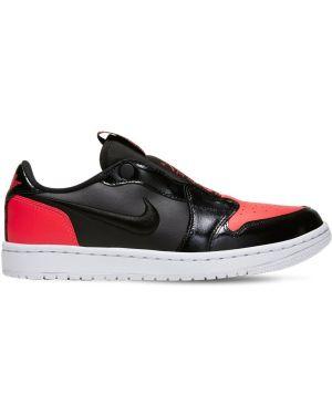 Красные кожаные слипы винтажные Nike