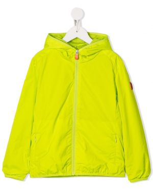 Желтая длинная куртка Save The Duck Kids