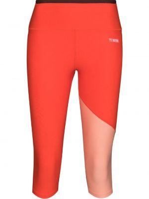 Pomarańczowe legginsy P.e Nation