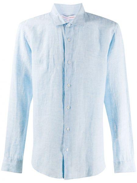 Koszula z długim rękawem klasyczna światło Orlebar Brown