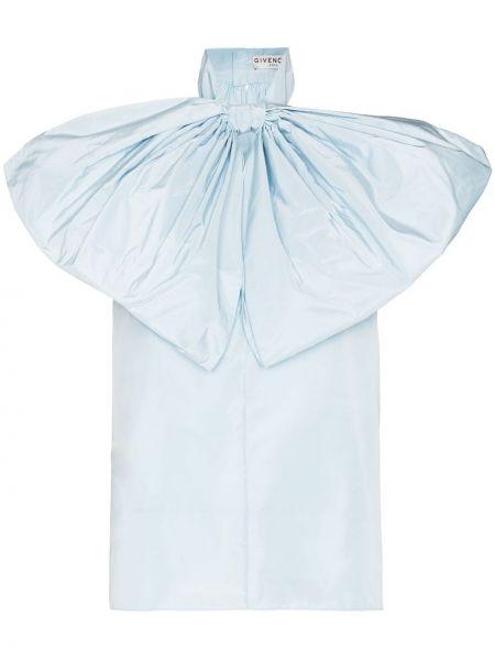 Światło niebieski bluzka bez rękawów przeoczenie bez rękawów Givenchy