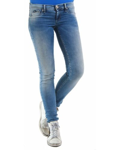 Хлопковые джинсы - голубые Gas