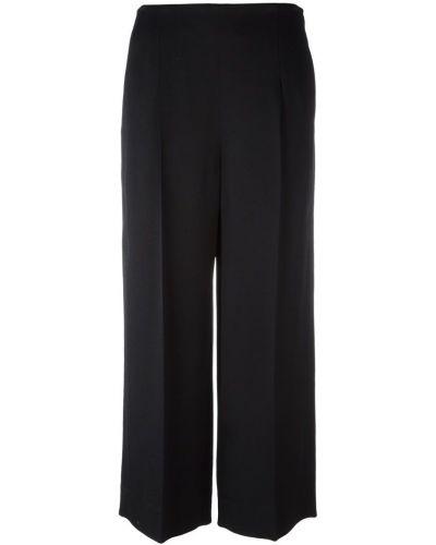 Укороченные брюки - черные Chalayan