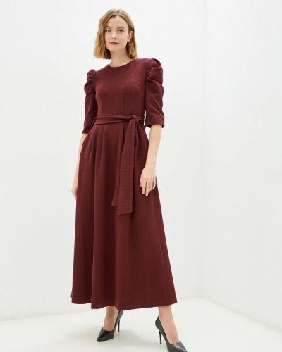 Повседневное платье - бордовое мадам т
