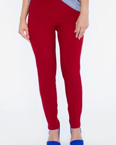 Классические брюки бордовый красный Eliseeva Olesya