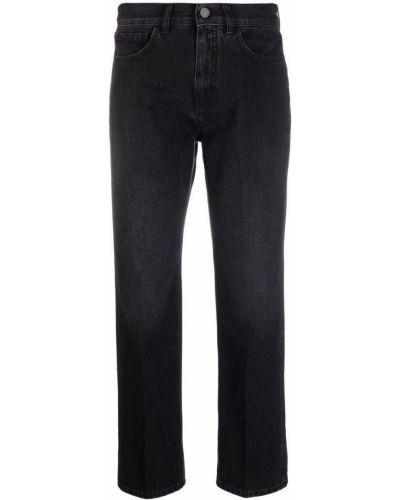Черные джинсовые прямые джинсы Seventy