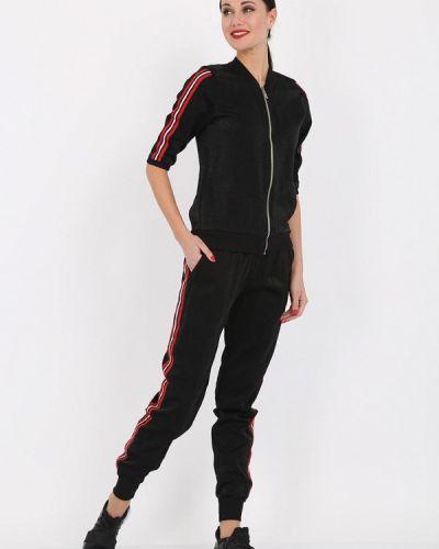 Черный костюмный спортивный костюм Whitney