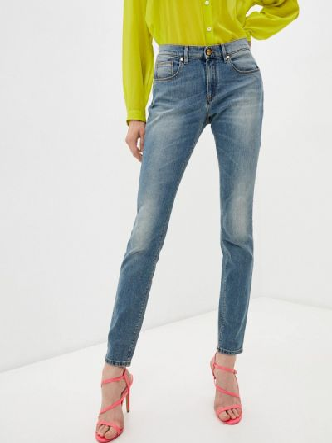 Зауженные джинсы - голубые Roberto Cavalli