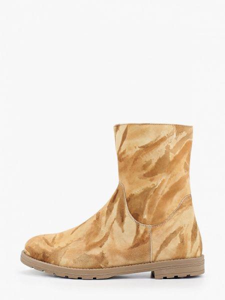 Ботинки на каблуке осенние Enzo Logana