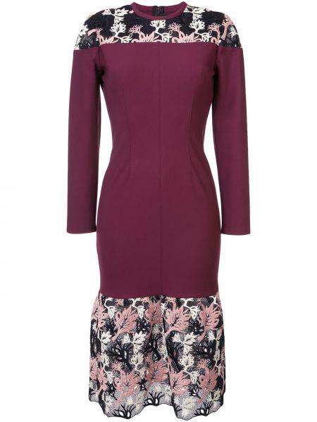Кружевное платье - красное Yigal AzrouËl