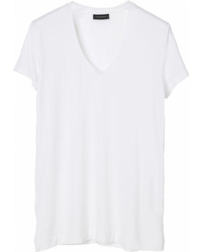 Biała t-shirt By Malene Birger