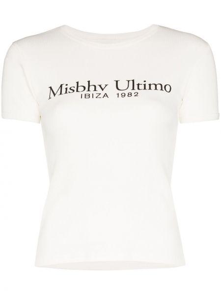 T-shirt biały Misbhv