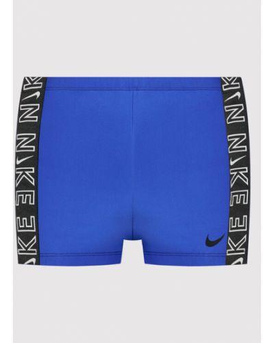 Niebieskie kąpielówki Nike