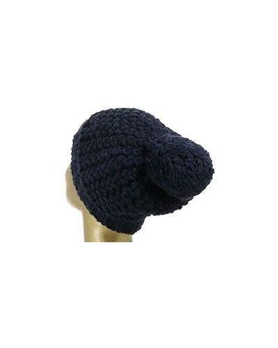 Синяя шапка Coccinelle
