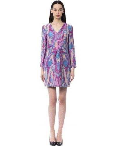 Fioletowa sukienka Byblos