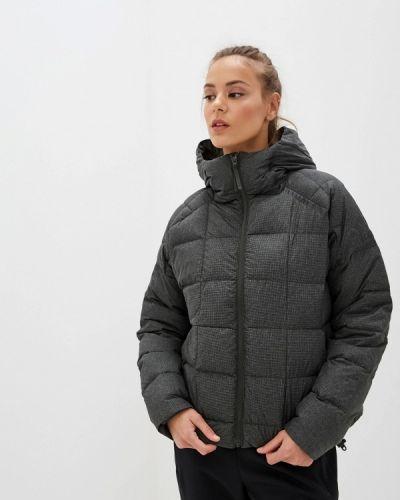 Куртка осенняя серая Adidas