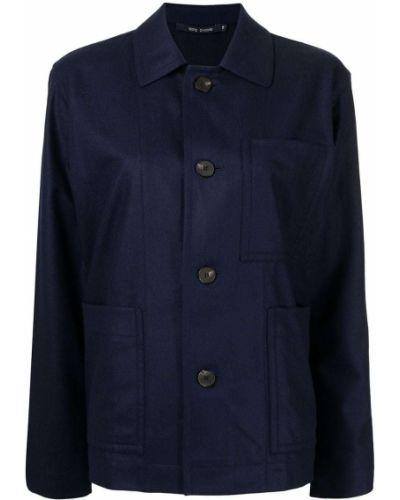 Рубашка с карманами - синяя Sofie D'hoore
