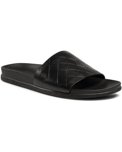 Czarne sandały na lato Aldo