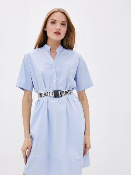 Платье - голубое Bikkembergs