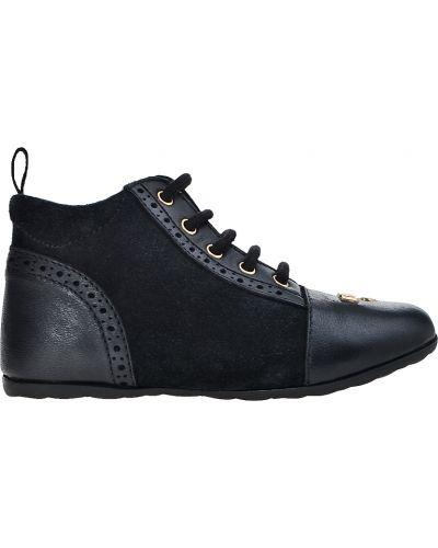 Черные ботинки Moschino