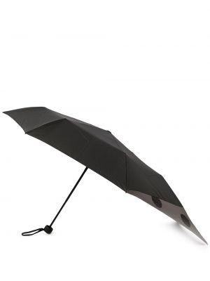 Niebieski parasol z printem Ys
