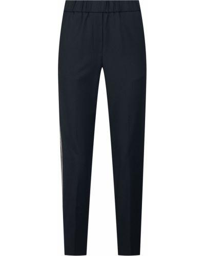 Укороченные брюки с карманами шерстяные Peserico