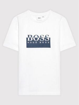 T-shirt - biała Boss
