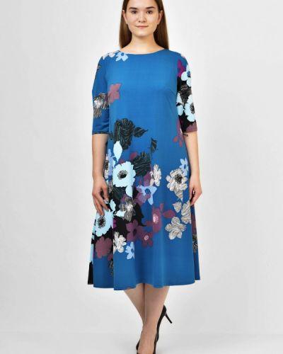 Повседневное платье синее Kontaly