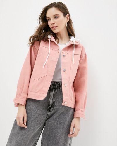 Розовая джинсовая куртка Grafinia