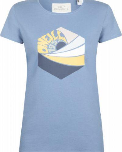 Хлопковая прямая футболка с короткими рукавами O`neill