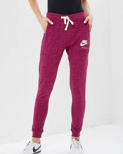Спортивные брюки фиолетовый весенний Nike